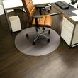 Bodenschutzmatte ecoblue für Hart- böden Form R ø60cm, 1,8mm stark transparent PET RS 08-060R Produktbild