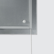 Glas-Magnetboard artverum mit LED-Licht 910x460x15mm Design World-Map inkl. Magnete Sigel GL409 Produktbild Additional View 1 S