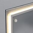 Glas-Magnetboard artverum mit LED-Licht 910x460x15mm Design World-Map inkl. Magnete Sigel GL409 Produktbild Additional View 2 S