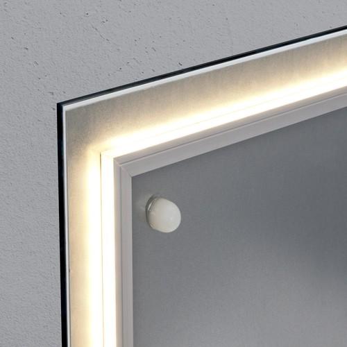 Glas-Magnetboard artverum mit LED-Licht 910x460x15mm Design World-Map inkl. Magnete Sigel GL409 Produktbild Additional View 2 L
