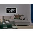 Glas-Magnetboard artverum mit LED-Licht 910x460x15mm Design World-Map inkl. Magnete Sigel GL409 Produktbild Additional View 9 S