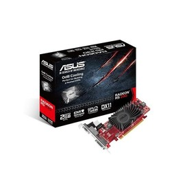 ASUS R5230-SL-2GD3-L - Grafikkarten - Radeon R5 230 - 2 GB DDR3 - PCIe 2.1 x16 - DVI, D-Sub, HDMI Produktbild