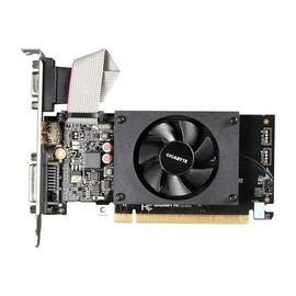 Gigabyte GV-N710D3-2GL - Grafikkarten - GF GT 710 - 2 GB DDR3 - PCIe 2.0 x8 Low-Profile - DVI, D-Sub, HDMI Produktbild