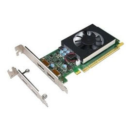 NVIDIA GeForce GT730 - Grafikkarten - GF GT 730 - 2 GB GDDR5 - PCIe 2.0 x8 Low-Profile - DisplayPort Produktbild