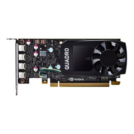 NVIDIA Quadro P620 - Grafikkarten - Quadro P620 - 2 GB GDDR5 - PCIe 3.0 x16 Low-Profile - 4 x Mini DisplayPort Produktbild