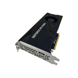PNY GeForce RTX 2080 Blower - Grafikkarten - GF RTX 2080 - 8 GB GDDR6 - PCIe 3.0 x16 - HDMI, 3 x DisplayPort, Produktbild