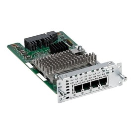 Cisco Fourth-Generation Network Interface Module - Sprach- / Faxmodul - Analogsteckplätze: 4 Produktbild