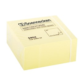 Haftnotizen Würfel 76x76mm gelb Papier BestStandard (ST=400 BLATT) Produktbild