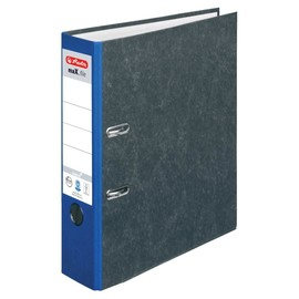 Ordner Max File Nature A4 80mm blau Herlitz 5171400 Produktbild