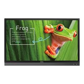 "BenQ RM7501K - 190.5 cm (75"") Klasse LED-Display - interaktive Kommunikation - mit Touchscreen - 4K UHD (2160p) 3840 Produktbild"