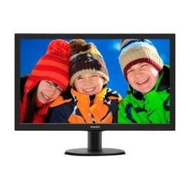 """Philips V-line 243V5LHAB - LED-Monitor - 59.9 cm (23.6"""") - 1920 x 1080 Full HD (1080p) - 250 cd/m² - 1000:1 Produktbild"""