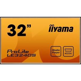 "Iiyama ProLite LE3240S-B1 - 81.3 cm (32"") Klasse (80 cm (31.5"") sichtbar) LED-Display - Digital Signage - 1080p Produktbild"