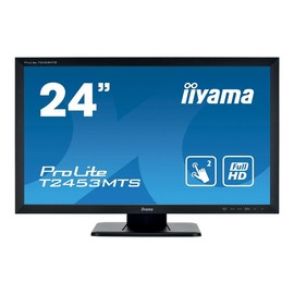 "Iiyama ProLite T2453MTS-B1 - LED-Monitor - 61 cm (24"") (23.6"" sichtbar) - Touchscreen - 1920 x 1080 Produktbild"
