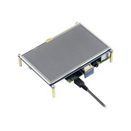 JOY-iT 5 Inch HDMI LCD V2 - Bildschirm - 12.7 cm (5 Zoll) - 800 x 480 Pixel Produktbild