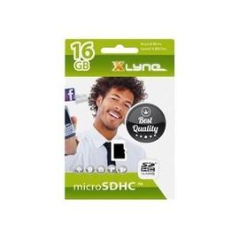 xlyne - Flash-Speicherkarte - 16 GB - Class 4 - microSDHC Produktbild