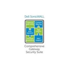 SonicWall Comprehensive Gateway Security Suite for SonicWALL TZ 500 - Abonnement-Lizenz (4 Jahre) - 1 Gerät - Produktbild