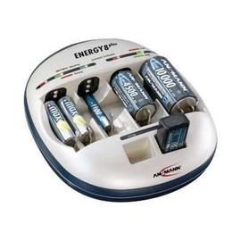 ANSMANN Energy 8 Plus - Batterieladegerät (für 6xAA/AAA, 4xC/D, 2x9V) Produktbild
