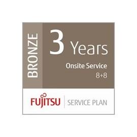 Fujitsu Bronze - Serviceerweiterung - Arbeitszeit und Ersatzteile - 3 Jahre - Vor-Ort - Reaktionszeit: 8 Std. Produktbild