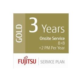 Fujitsu Assurance Program Gold - Serviceerweiterung - Arbeitszeit und Ersatzteile - 3 Jahre - Vor-Ort - Produktbild