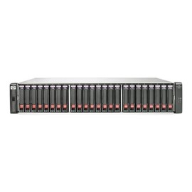 HPE Modular Smart Array 2040 SAS Dual Controller SFF Storage - Festplatten-Array - 24 Schächte (SAS-2) Produktbild