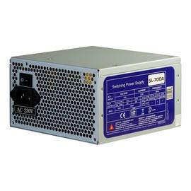 Inter-Tech SL-700 - Stromversorgung (intern) - ATX12V 2.2 - Wechselstrom 115/230 V - 700 Watt - aktive PFC Produktbild