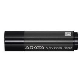 ADATA S102 Pro Advanced - USB-Flash-Laufwerk - 256 GB - USB 3.0 - Titanium Gray Produktbild