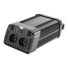 Technaxx TE16 - Wechselrichter Gleichstrom in Wechselstrom - 12 V - 1200 Watt - Ausgangsanschlüsse: 2 Produktbild