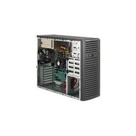 Supermicro SC732 i-R500B - Midi Tower - Erweitertes ATX 500 Watt (PS/2) - Schwarz - USB Produktbild