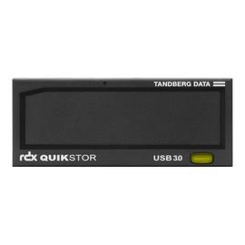 "Tandberg RDX QuikStor - Laufwerk - RDX - SuperSpeed USB 3.0 - intern - 3.5"" (8.9 cm) Produktbild"