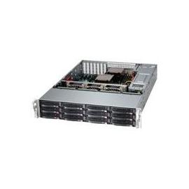 Supermicro SuperStorage Server 6028R-E1CR12T - Server - Rack-Montage - 2U - zweiweg - RAM 0 MB Produktbild