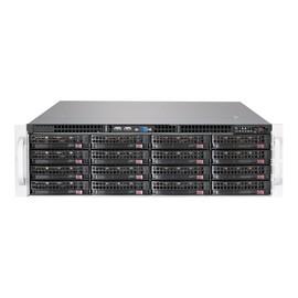 Supermicro SC836 BE2C-R1K03JBOD - Rack - einbaufähig - 3U - SATA/SAS - Hot-Swap 1000 Watt Produktbild