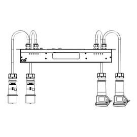 Eaton ePDU EILB24 - Stromverteilungseinheit (Rack - einbaufähig) - Wechselstrom 230 V - 4 kW Produktbild