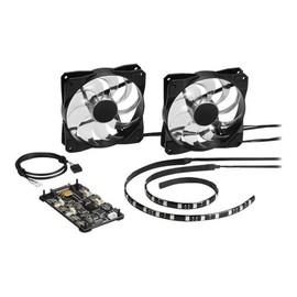Sharkoon Pacelight RGB Illumination Set - System-Gebläseeinheit - 120 mm Produktbild