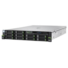 Fujitsu PRIMERGY RX2540 M4 - Server - Rack-Montage - 2U - zweiweg - 1 x Xeon Silver 4114 / 2.2 GHz Produktbild