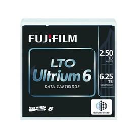 Fuji - 5 x LTO Ultrium 6 - 2.5 TB / 6.25 TB - etikettiert - für PRIMERGY RX2540 M2, RX600 S6, TX1320 M3, TX1330 Produktbild