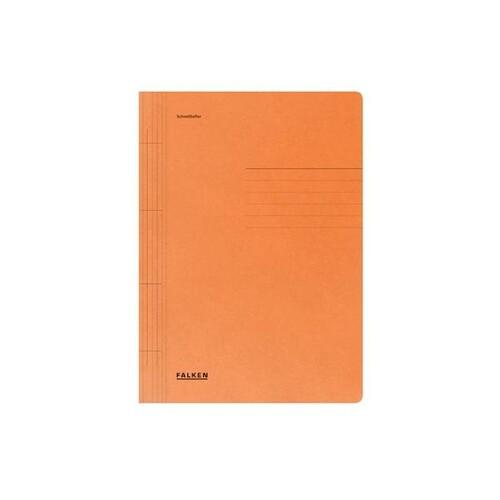 Schnellhefter A4 orange Karton Falken 80003791 Produktbild Front View L
