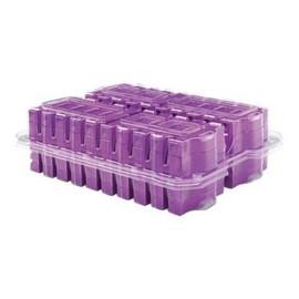 HPE Ultrium RW Eco Case Data Cartridge - 20 x LTO Ultrium 6 - 2.5 TB / 6.25 TB - Beschriftungsetiketten - Violett - für Produktbild