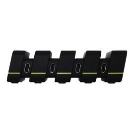 GELID Fourza - Netzteil - 48 Watt - 2.4 A - 4 Ausgabeanschlussstellen (USB) Produktbild