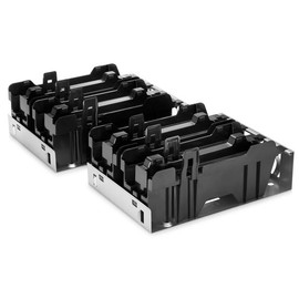 HP Rack Mount Tray Kit - Rack Mounting Tray - Silber, tiefschwarz - 7U (Packung mit 2) - für HP 260 G2; EliteDesk 705 Produktbild