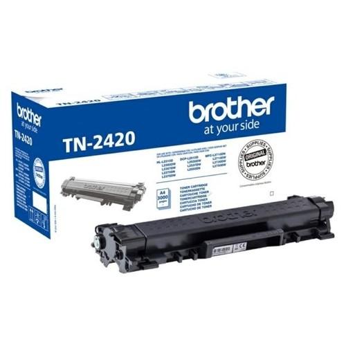 Toner für DCP-L2510D/DCP-L2530DW 3000 Seiten schwarz Brother TN-2420 Produktbild Front View L