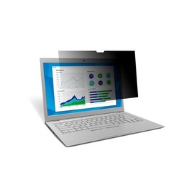 "3M Blickschutzfilter für 12"" Apple Macbook - Notebook-Privacy-Filter - 30.5 cm (12"") - Schwarz - für Apple MacBook Produktbild"