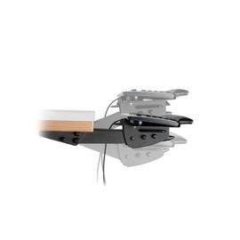 Dataflex Articulating Keyboard/Mouse Mechanism - Tastatur- und Mausunterlage mit Handgelenkauflage - Schwarz Produktbild