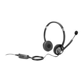 HP UC Wired Headset - Headset - On-Ear - kabelgebunden - für HP t628; EliteBook 1050 G1, 830 G5, 850 G5; EliteBook x360; Produktbild