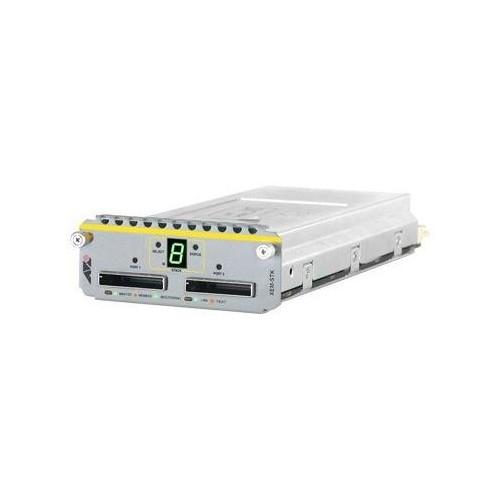 Allied Telesis AT-XEM-STK - Netzwerkstapelmodul - 2 Anschlüsse - für AT x900-12, X900-24; SwitchBlade AT Produktbild Additional View 1 L