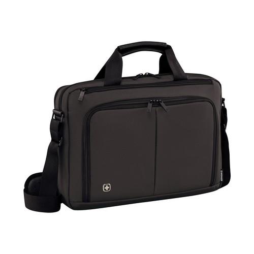 "Wenger SOURCE 14 - Notebook-Tasche - 36 cm (14"") - Grau Produktbild Front View L"