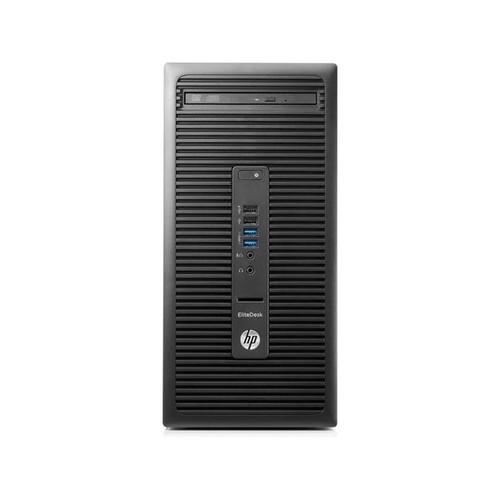 HP EliteDesk 705 G3 - Micro Tower - 1 x A6 9500 / 3.5 GHz - RAM 8 GB - HDD 500 GB - DVD SuperMulti Produktbild Additional View 1 L