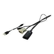 Lenovo Serial Conversion Option - Video- / USB-Adapter - für Lenovo Global 2x2x16, Global 4x2x32; System x3500 M4; Produktbild