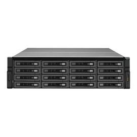 QNAP REXP-1610U-RP - Speichergehäuse - 16 Schächte (SATA-600) - Rack - einbaufähig - 3U Produktbild