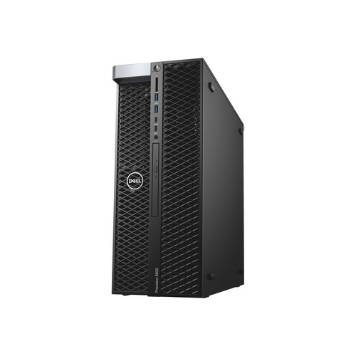 Dell Precision 5820 Tower - MDT - 1 x Xeon W-2123 / 3.6 GHz - RAM 16 GB - SSD 512 GB - DVD-Writer Produktbild