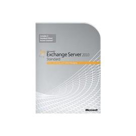 Microsoft Exchange Server 2010 Standard Edition - Box-Pack - 1 Server, 5 CALs - DVD - 64-bit - Win Produktbild